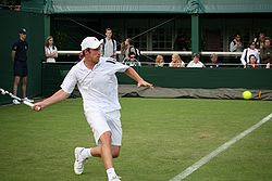 Grega Zemlja at the 2009 Wimbledon Championships 01.jpg