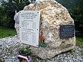Gresse-en-Vercors Combattants maquis juillet 1944 (monument devant pistes) 1.jpg
