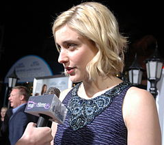 Greta Gerwig på premiären för No Strings Attached 2011.
