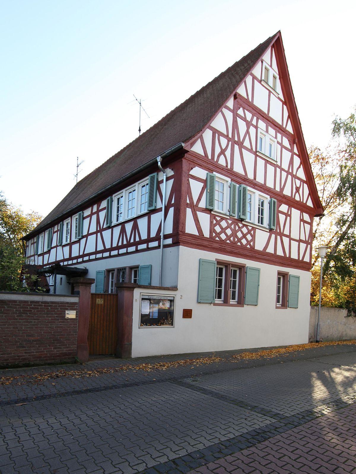 Fenster Griesheim pfarrhaus griesheim