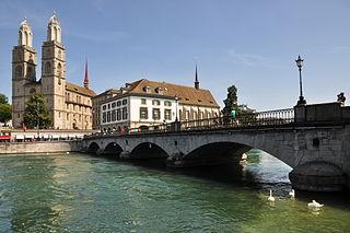 Münsterbrücke, Zürich