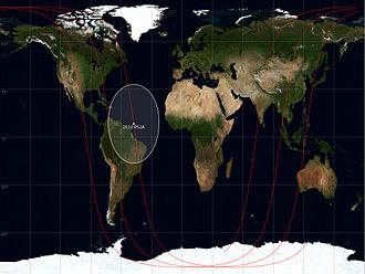 VRSS-1 - Ground track of VRSS