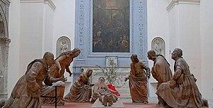 Guido Mazzoni (sculptor) - Compianto, Sant'Anna dei Lombardi, Naples