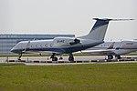 Gulfstream IV 'XA-AVZ' (30893847536).jpg