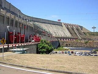 Guri Dam Hydroelectric dam in Venezuela
