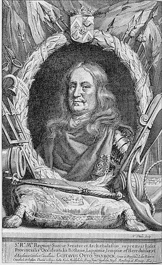 Stenbock - Image: Gustaf Otto Stenbock