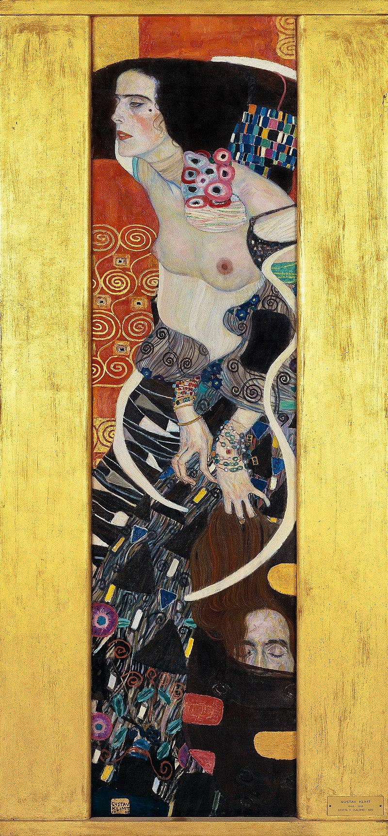 Gustav Klimt, Judith II.jpg