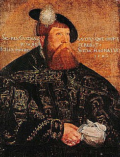 16th century king of Sweden