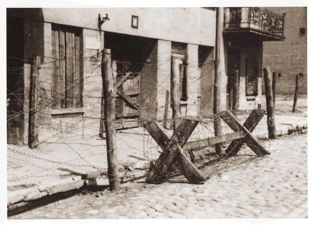 Gypsy camp in ghetto