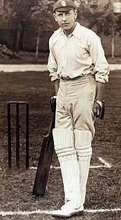 H. D. G. Leveson Gower English cricketer