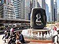 HK 中環 Central 交易廣場 Exchange Square 亨利摩爾 Henry Moore sculpture Oval with Points December 2019 SS2 03.jpg