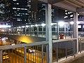 HK Admiralty footbridge 02 night 添美道天橋 Tim Mei Avenue Feb-2012.jpg