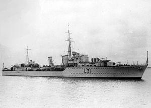 HMS Mohawk (F31)