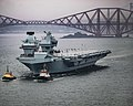 HMS Prince of Wales (R09) depart Forth for initial sea trials - 11.jpg