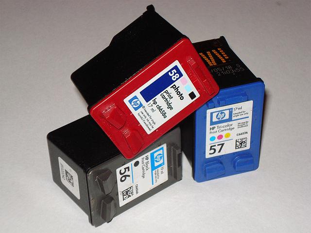 HP cartridges, From WikimediaPhotos
