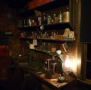 H. H. Bennett Studio - Bennett's darkroom