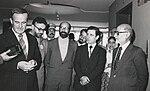 Hafez al-Assad, Ebrahim Yazdi, Mostafa Chamran and Mehdi Bazargan.jpg
