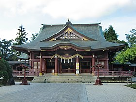 Haiden of Kasama Inari Shrine01.jpg