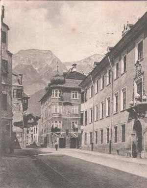 Kaiserjäger - Kaiserjäger barracks in Hall in Tirol