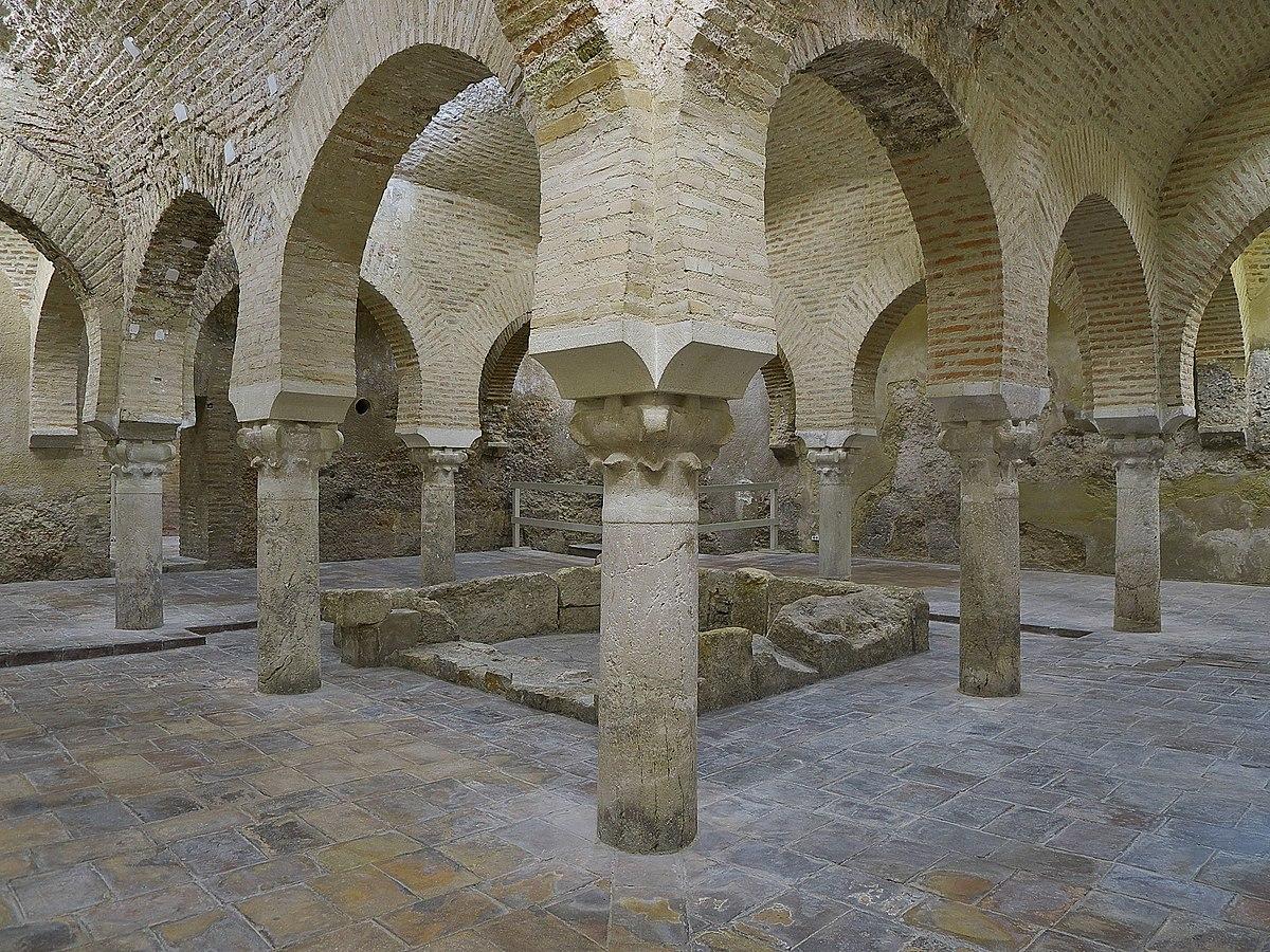 Ba os rabes de ja n wikipedia la enciclopedia libre - Banos arabes palacio de comares ...