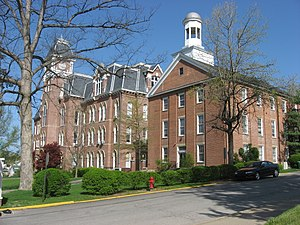Waynesburg University - Hanna and Miller Halls, two of the university's oldest buildings