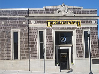 Canadian, Texas - Image: Happy State Bank, Canadian, TX IMG 6065