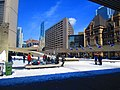 Happy skaters on Nathan Phillips Square, 2016 03 06 (5) (25547420666).jpg