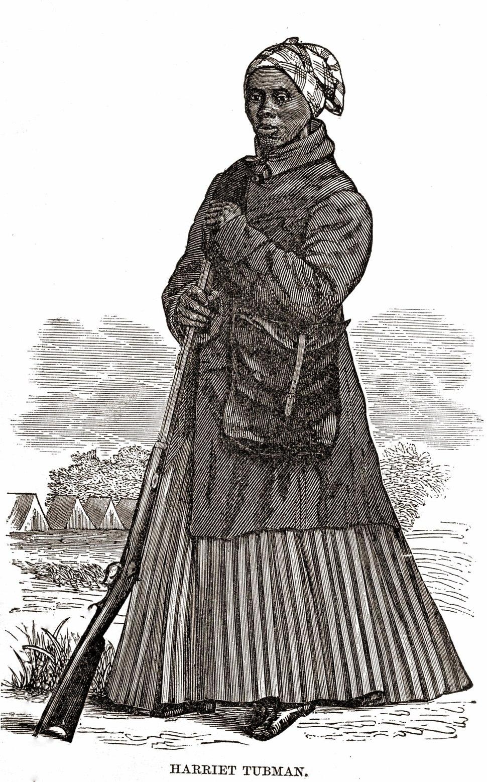 Harriet Tubman Civil War Woodcut