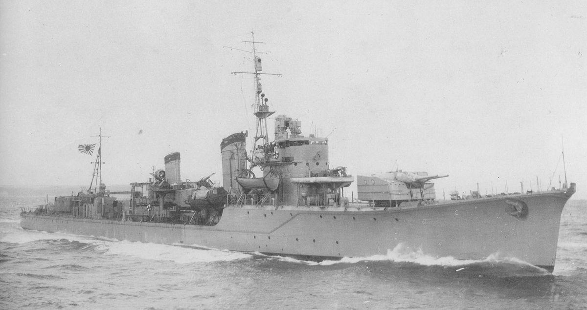 Japanese destroyer Harusame (1935) - Wikipedia