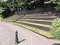 Hautot-le-Vatois (Seine-Mar.) tribune verte de la mairie-école.jpg