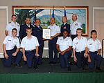 Hawaii Wing CAP members present honorary membership.jpg