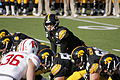 Hawkeyes Jake Ruddock against Badgers 2013.jpg