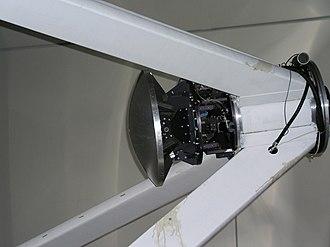 Heinrich Hertz Submillimeter Telescope - Image: Heinrich Hertz Submillimeter Telescope Closeup