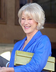 Helen Mirren januari 2013