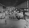 Helsingin rautatieasema - umpinainen päätelaituri katos 1959.jpg