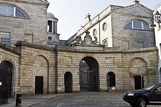 Henrietta Street, Dublin - Entrance to King's Inns