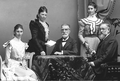 Henrietta de Millas, Sofie de Millas, Adolf Cluss, Julie de Millas, Louis de Millas (1898).png