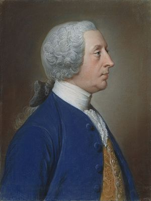 Henry Hoare - Henry Hoare portrayed by his friend the painter William Hoare about 1750–1760