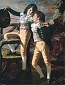 Henry Raeburn – 'The Allen Brothers' (Portrait of James and John Lee Allen), early 1790s, Oil on canvas, Kimbell Art Museum.jpg