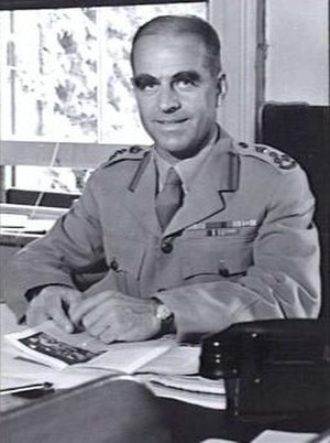 Chief of the Defence Force (Australia) - Lieutenant General Sir Henry Wells, the first Chairman, Chiefs of Staff Committee