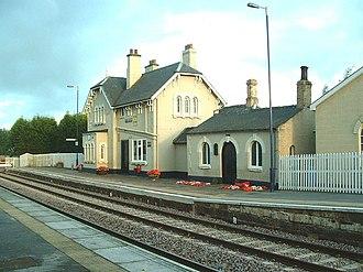 Hensall, North Yorkshire - Hensall railway station, Hensall