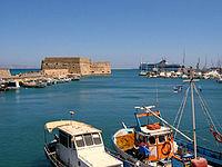 Το λιμάνι του Ηρακλείου