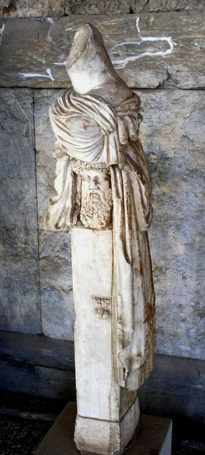 The Statue of Hermes - A Roman copy of a herm