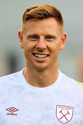 David Martin met West Ham United in 2019