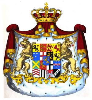 Duchy of Nassau - Image: Herzogswappen Nassau