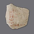 Hieratic Ostracon with accounts MET LC-26 3 167 EGDP027779.jpg