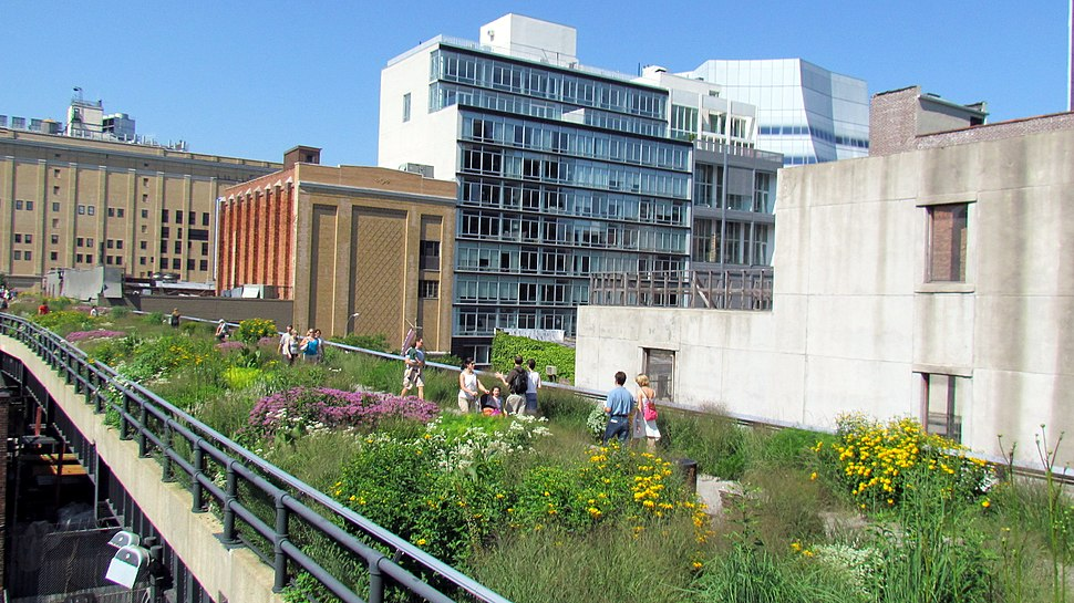 High Line Park the new second section
