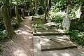 Highgate Cemetery - East - Marx (first grave) 01.jpg
