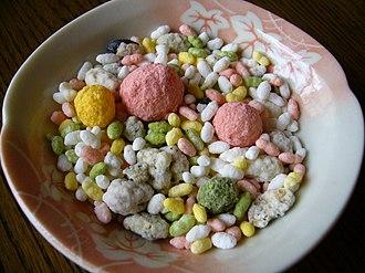 Arare (food) - Image: Hina arare,katori city,japan