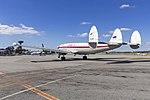 Historical Aircraft Restoration Society (VH-EAG) Lockheed Super Constellation 'Connie' taxiing at Wagga Wagga Airport (6).jpg